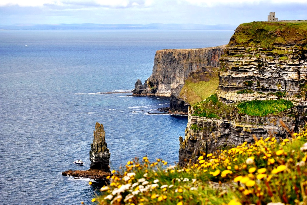 Cliffs of Moher are a bucket list item in Ireland