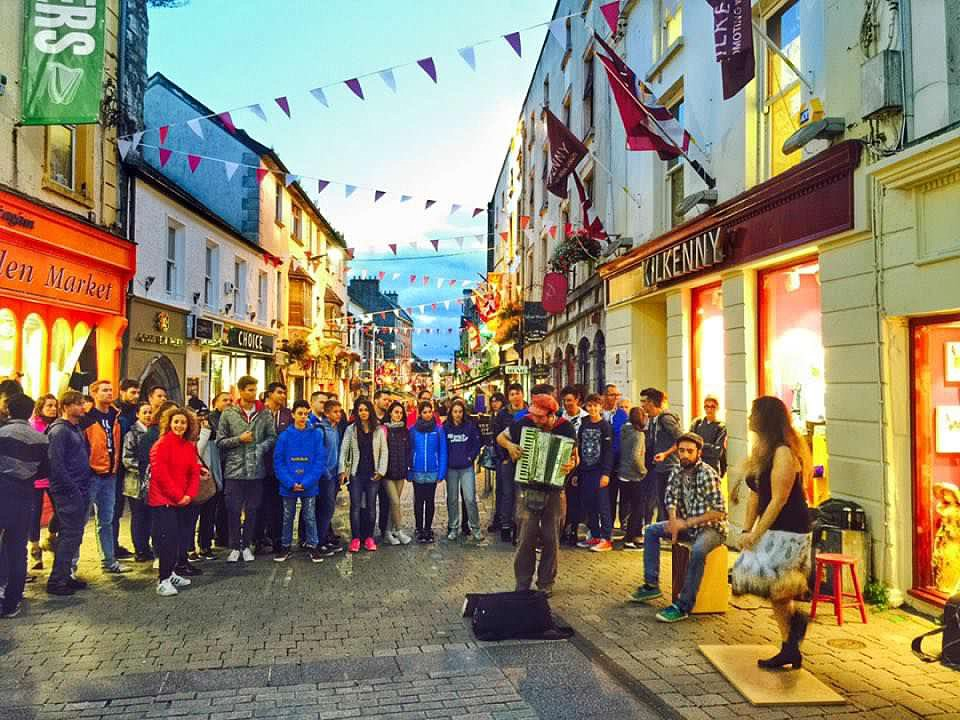 Galway Street Music in Ireland