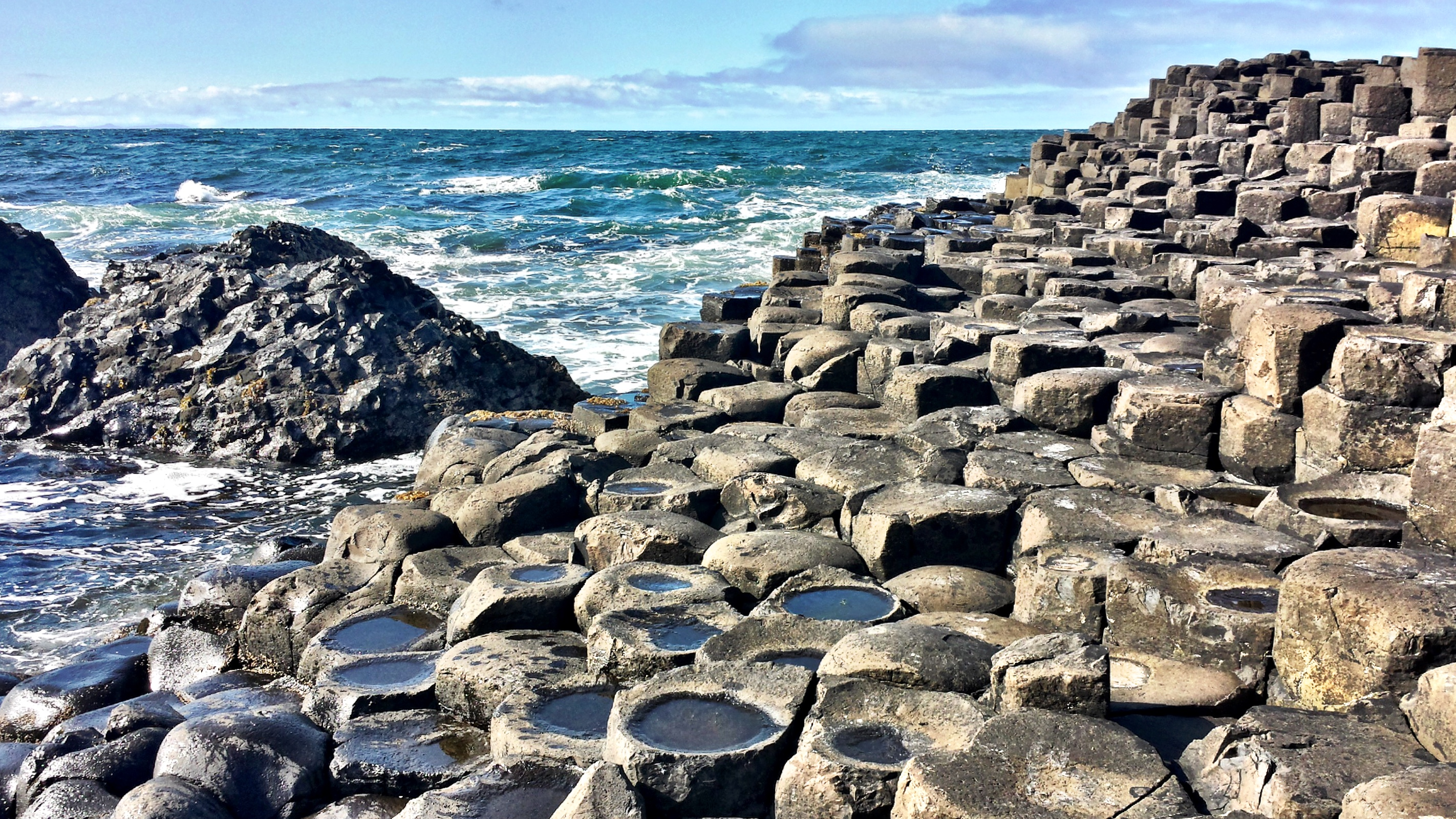 Be mesmerized by the Giants Causeway's in Northern Ireland