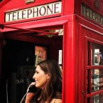 Kristy Williford in London Phone Booth