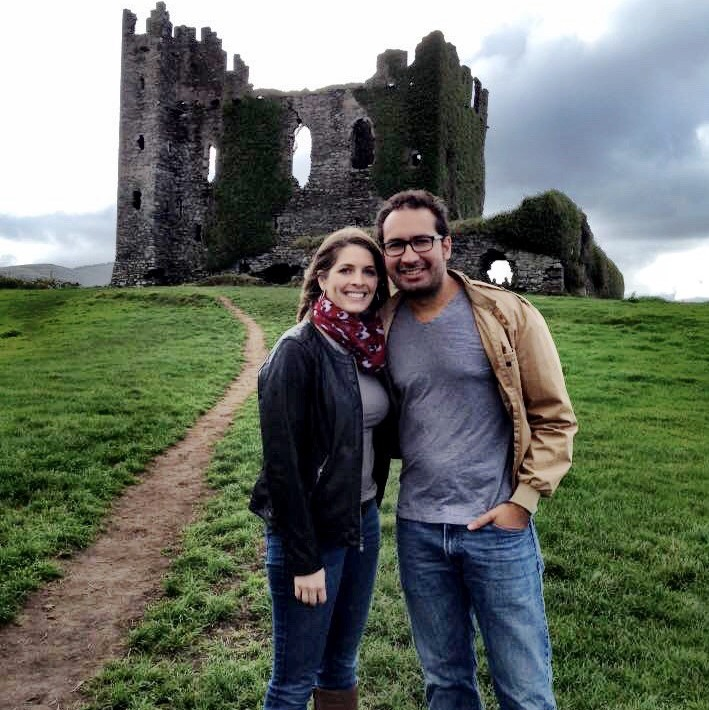 The Willifords at Ballycarbery Castle