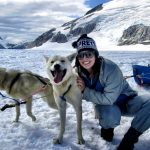 Kristy Williford dog sledding in Alaska