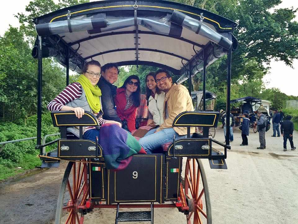 Carriage Ride - Killarney - Ireland - Group Photo