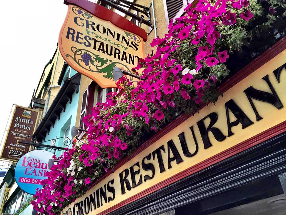 Cronins Restaurant in Killarney Ireland