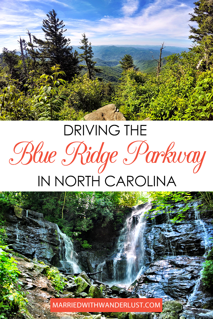 Driving the Blue Ridge Parkway in North Carolina