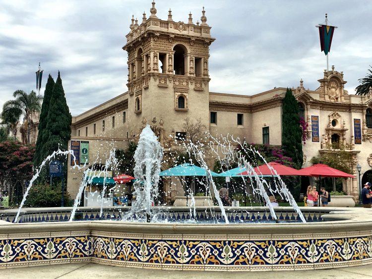 The Prado - San Diego - Balboa Park - California