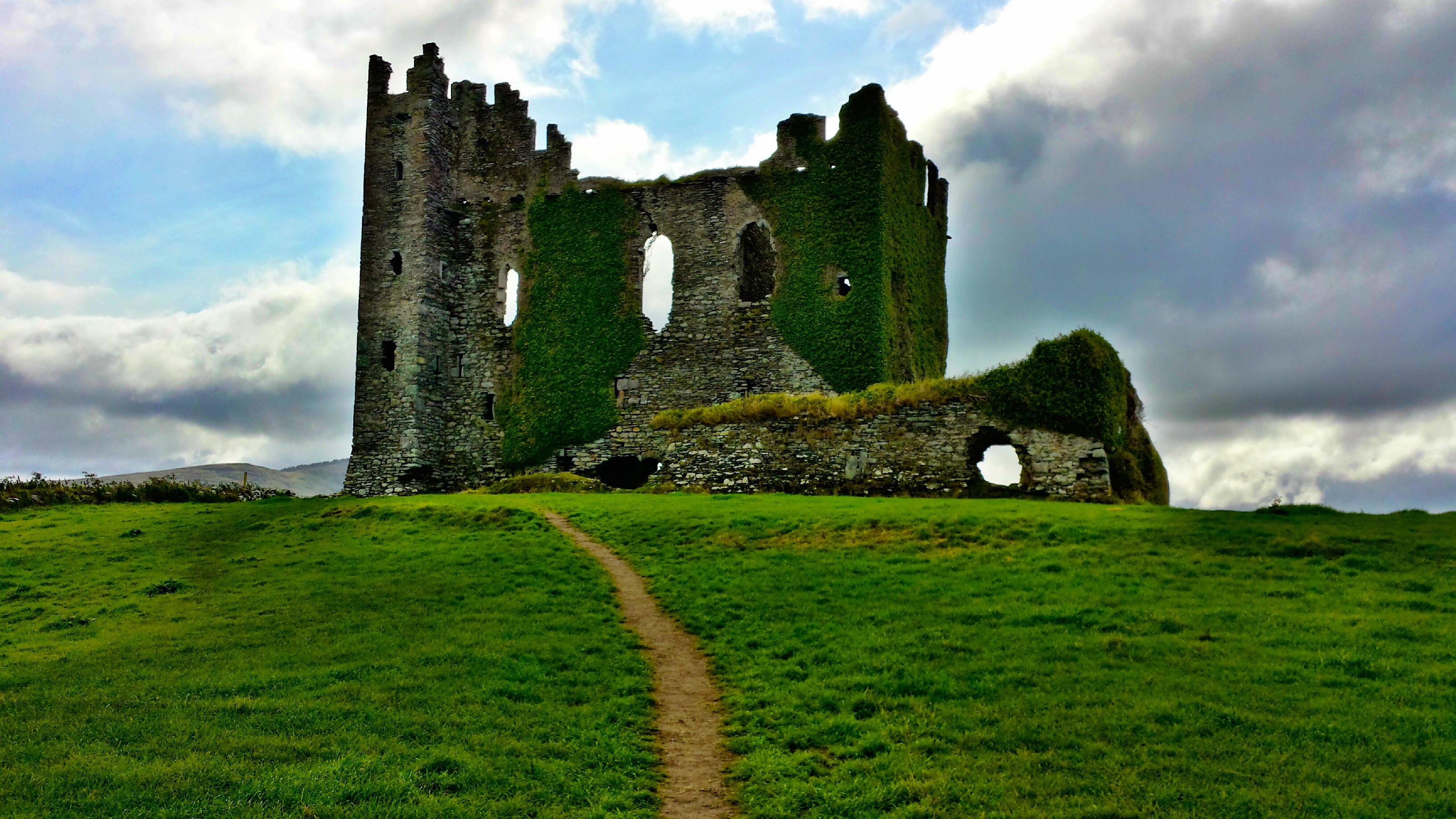 Ballycarbery Castle in Ireland