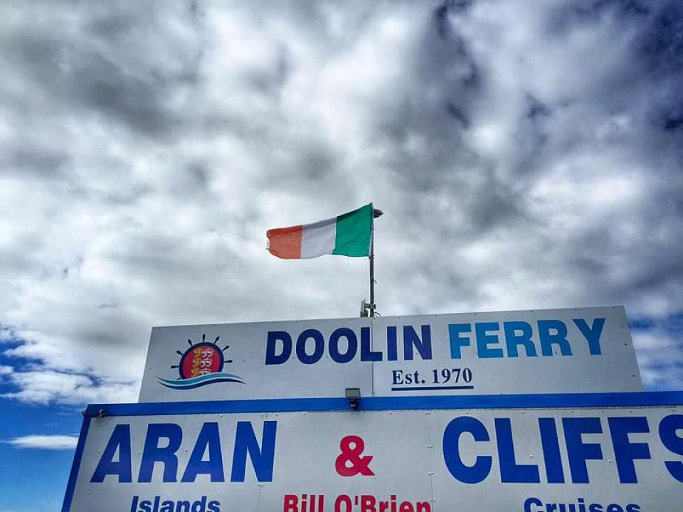Doolin Ferry in Ireland