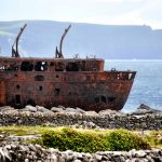Plassy Shipwreck on Aran Islands, Ireland