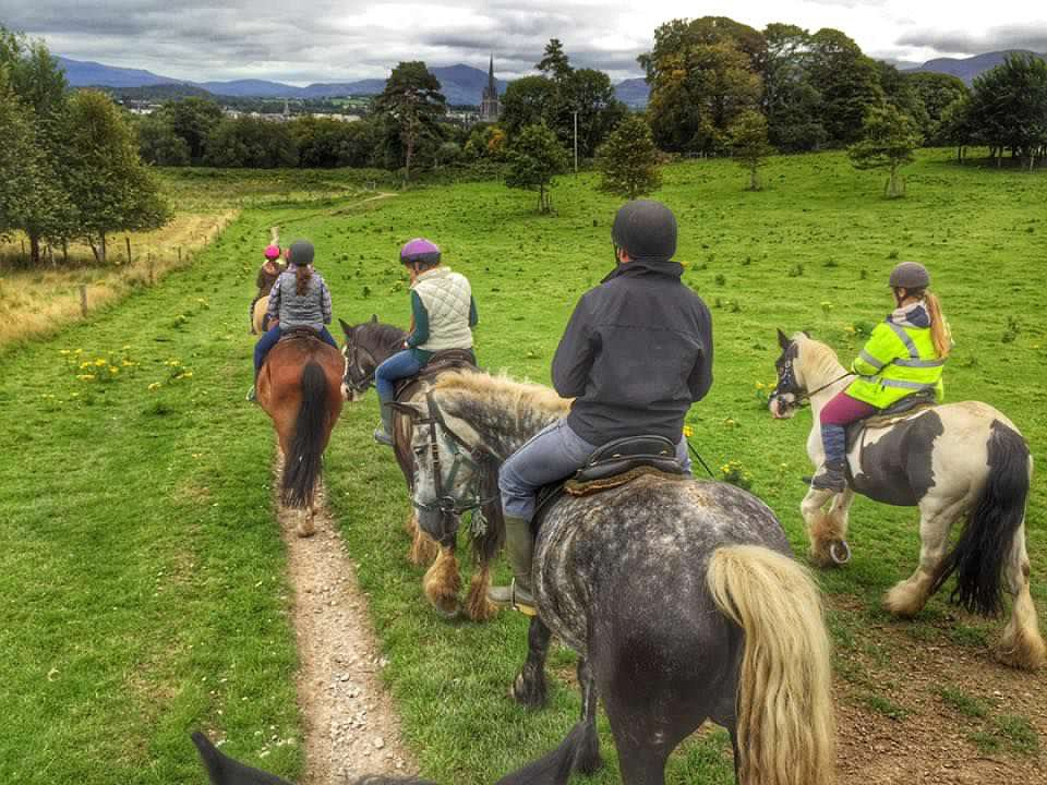 Killarney National Park - Ireland - Horseback Riding Group
