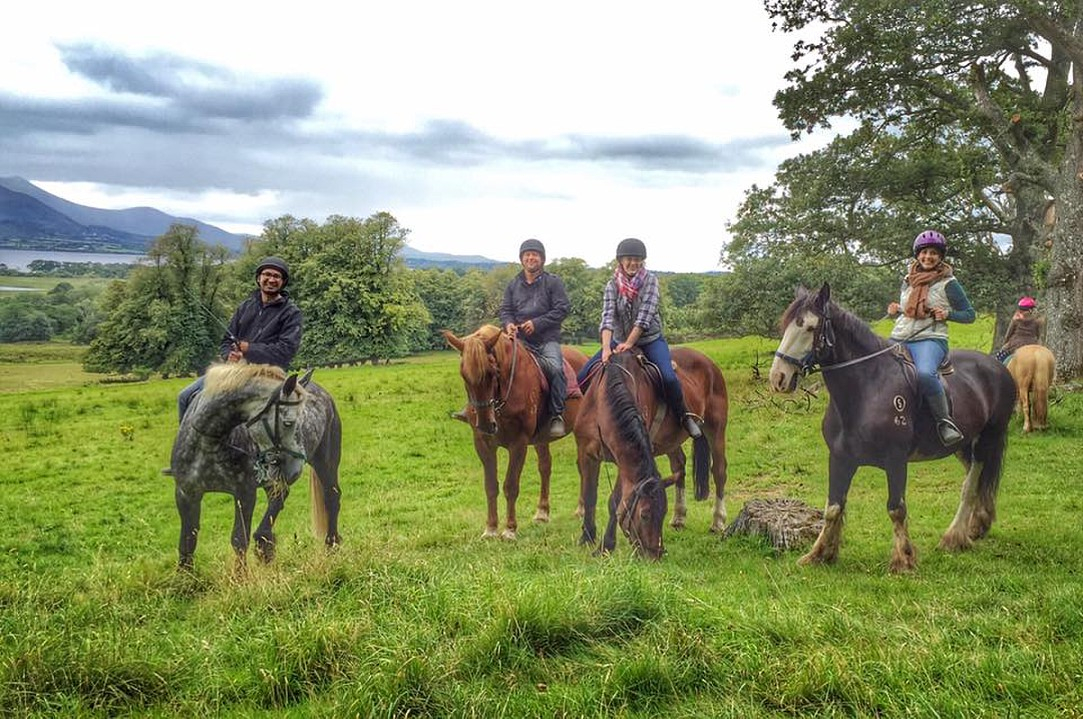 Killarney National Park - Ireland - Horseback Riding - Group