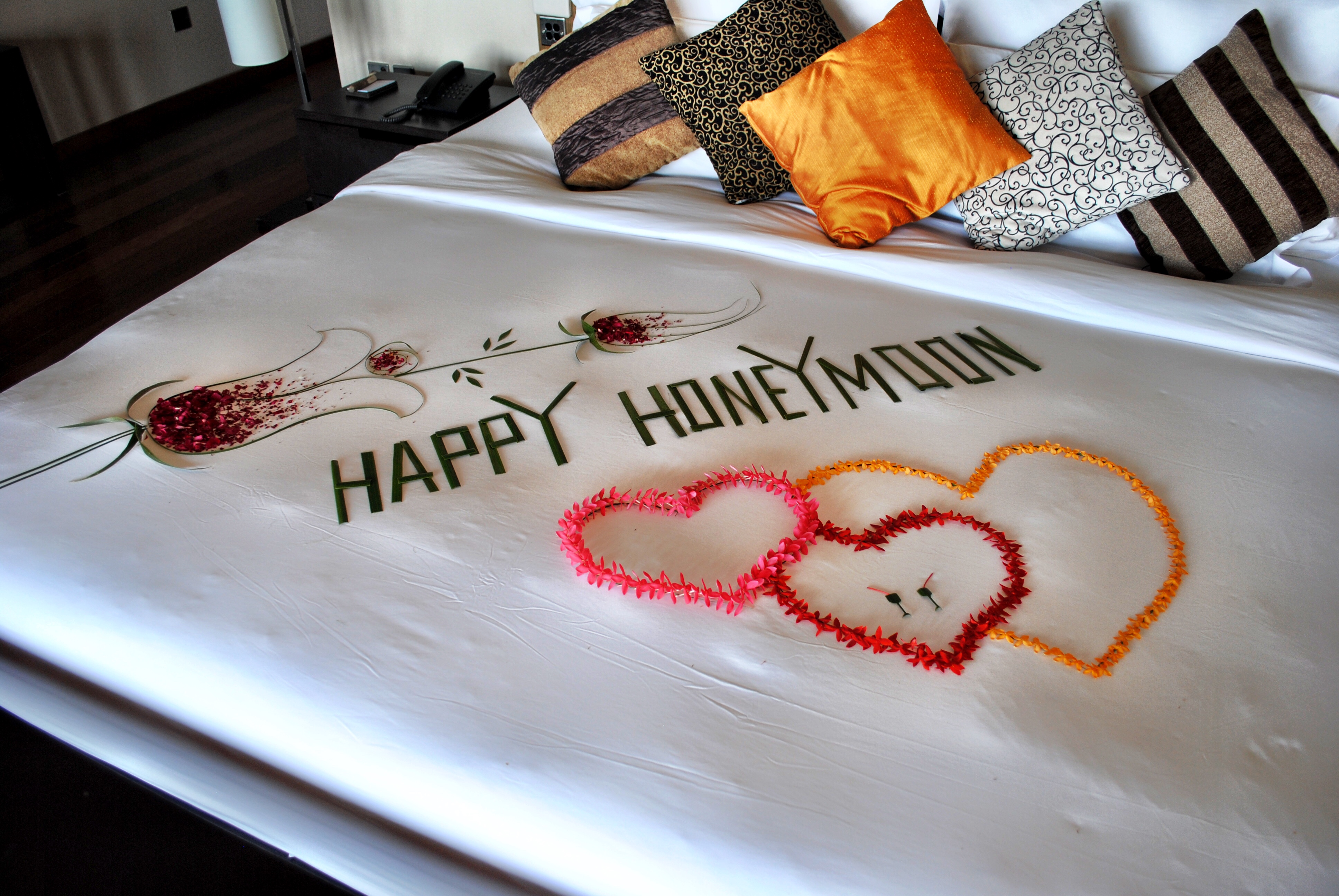 Happy Honeymoon welcome
