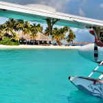 Seaplane to Veligandu Island Maldives