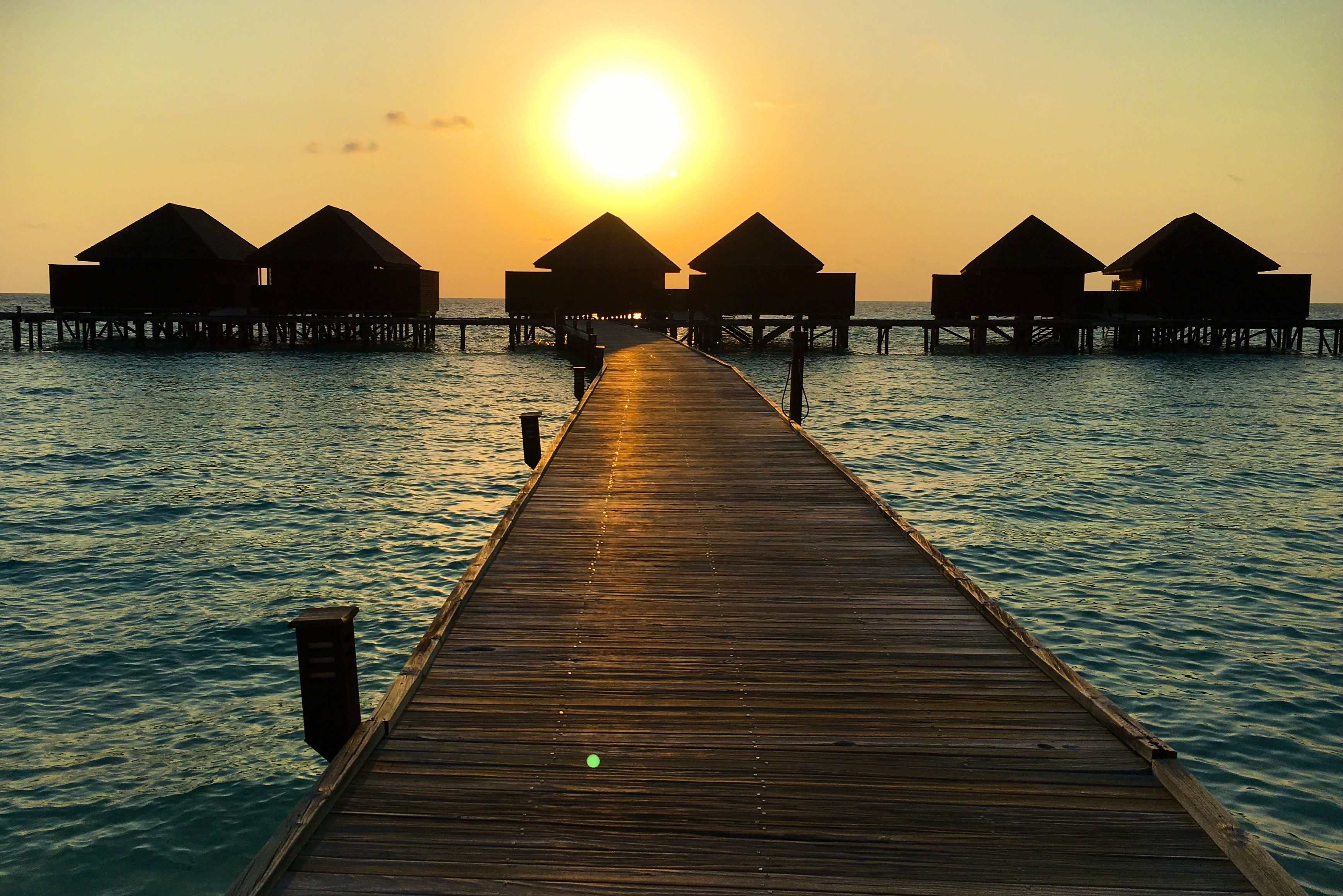 Maldives - Veligandu Island - Sunset