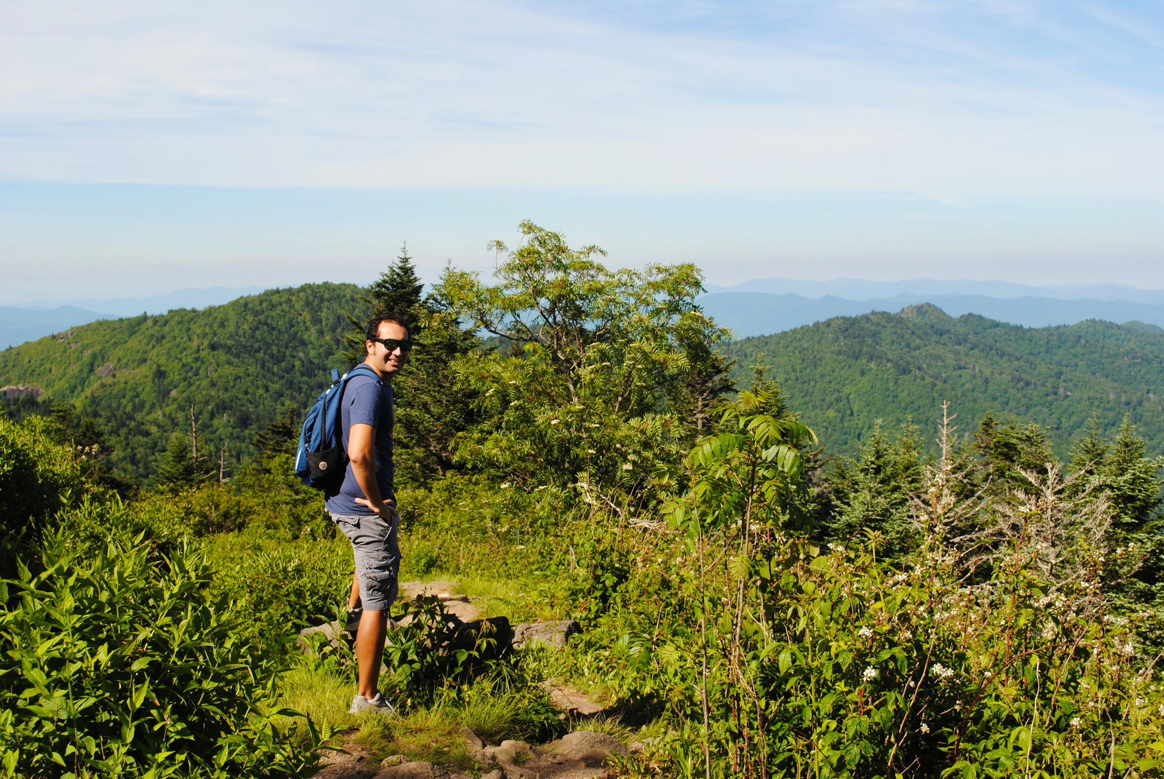 North Carolina - Blue Ridge Parkway - Hiking