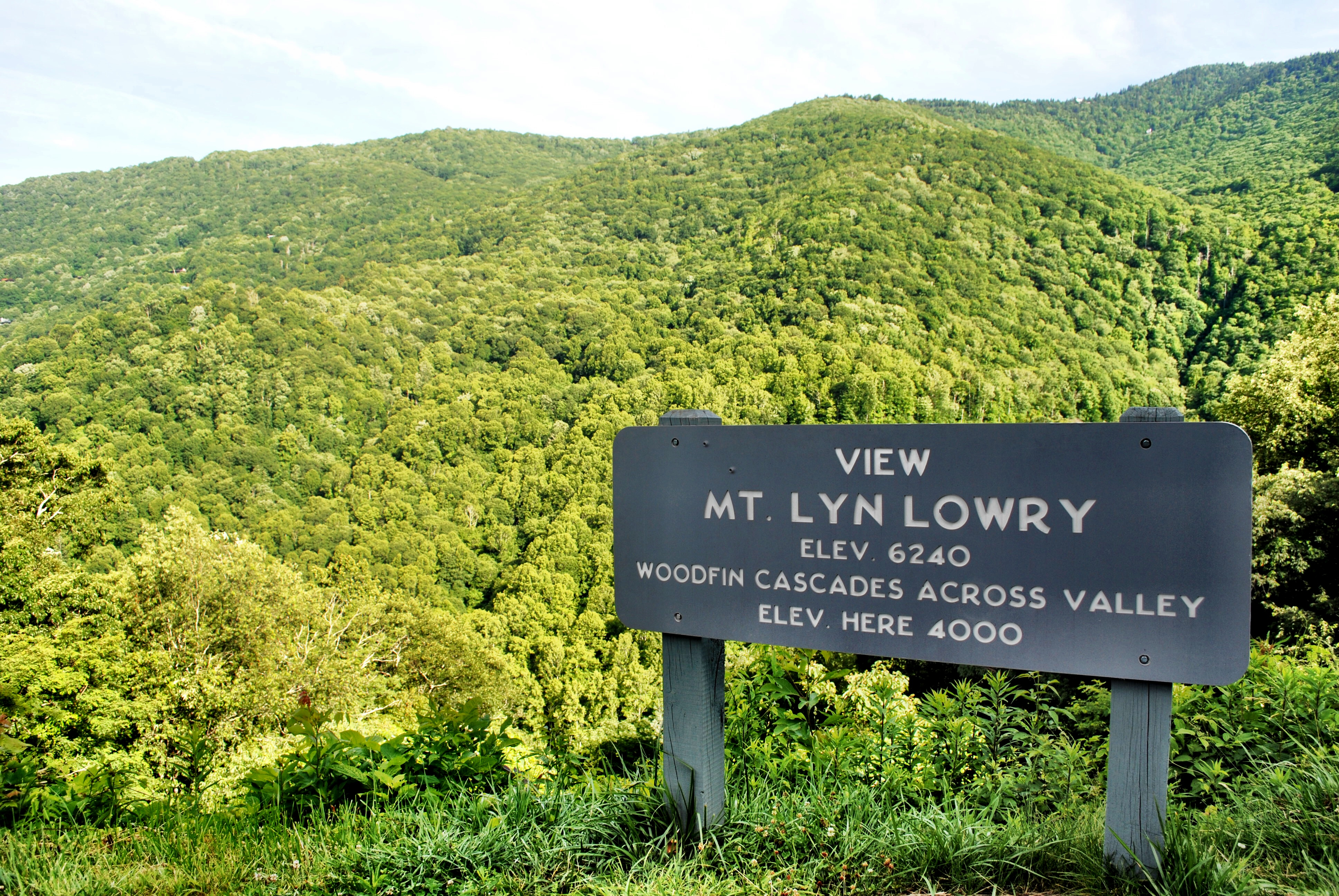 North Carolina - Blue Ridge Parkway - Mt Lyn Lowry Overlook