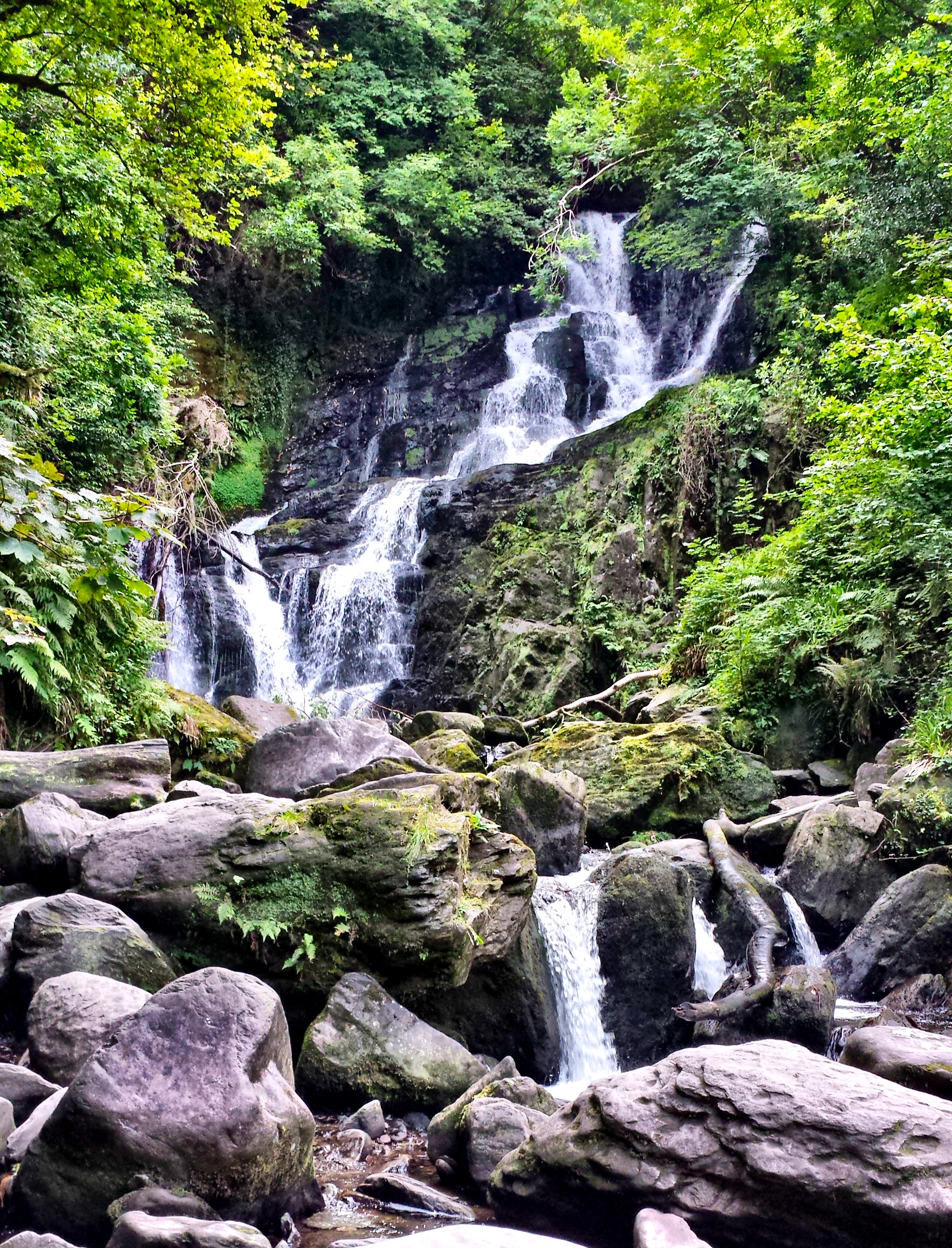 Torc Waterfall in Killarney Ireland