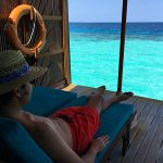 Veligandu - Maldives - WC at Overwater Bungalow