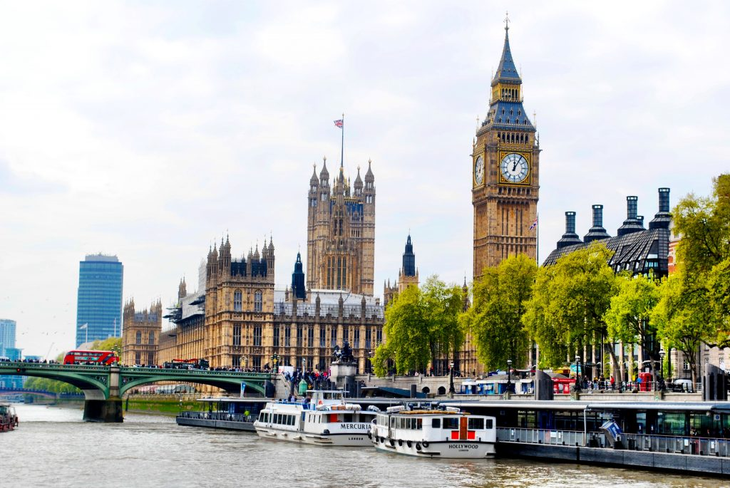 England - London - Thames River Cruise