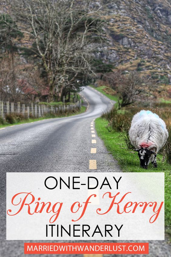 Itinerary for Ireland's Ring of Kerry