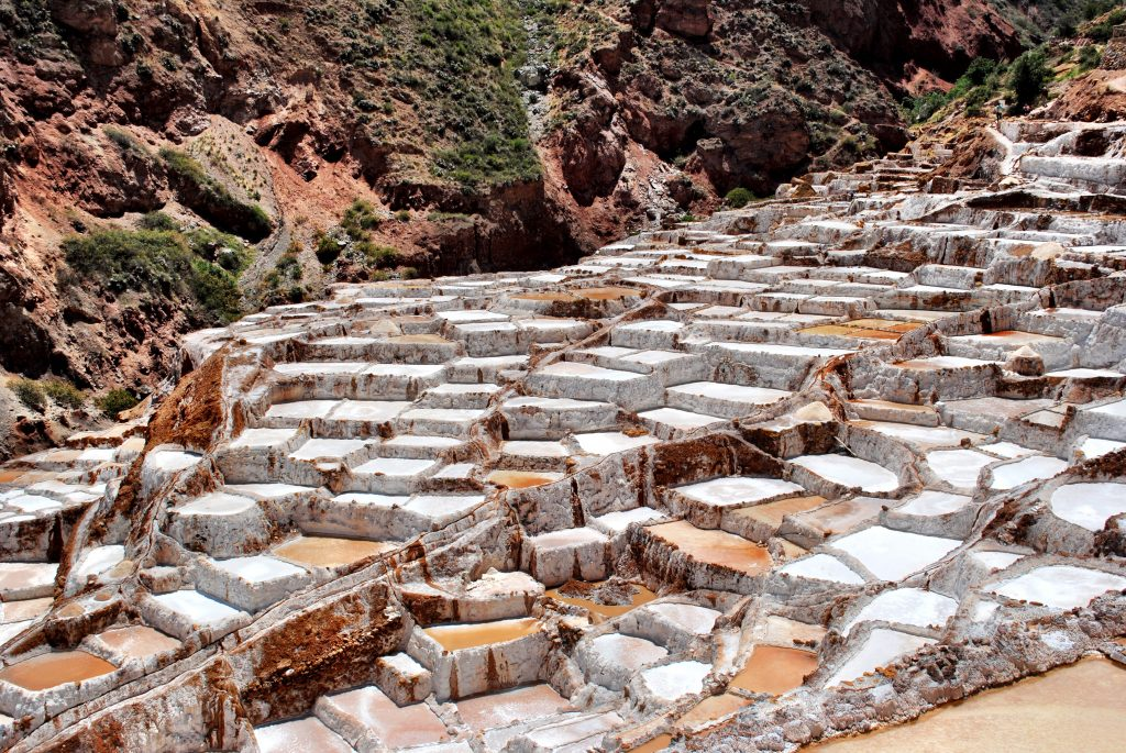 Maras Salt Mines - Sacred Valley