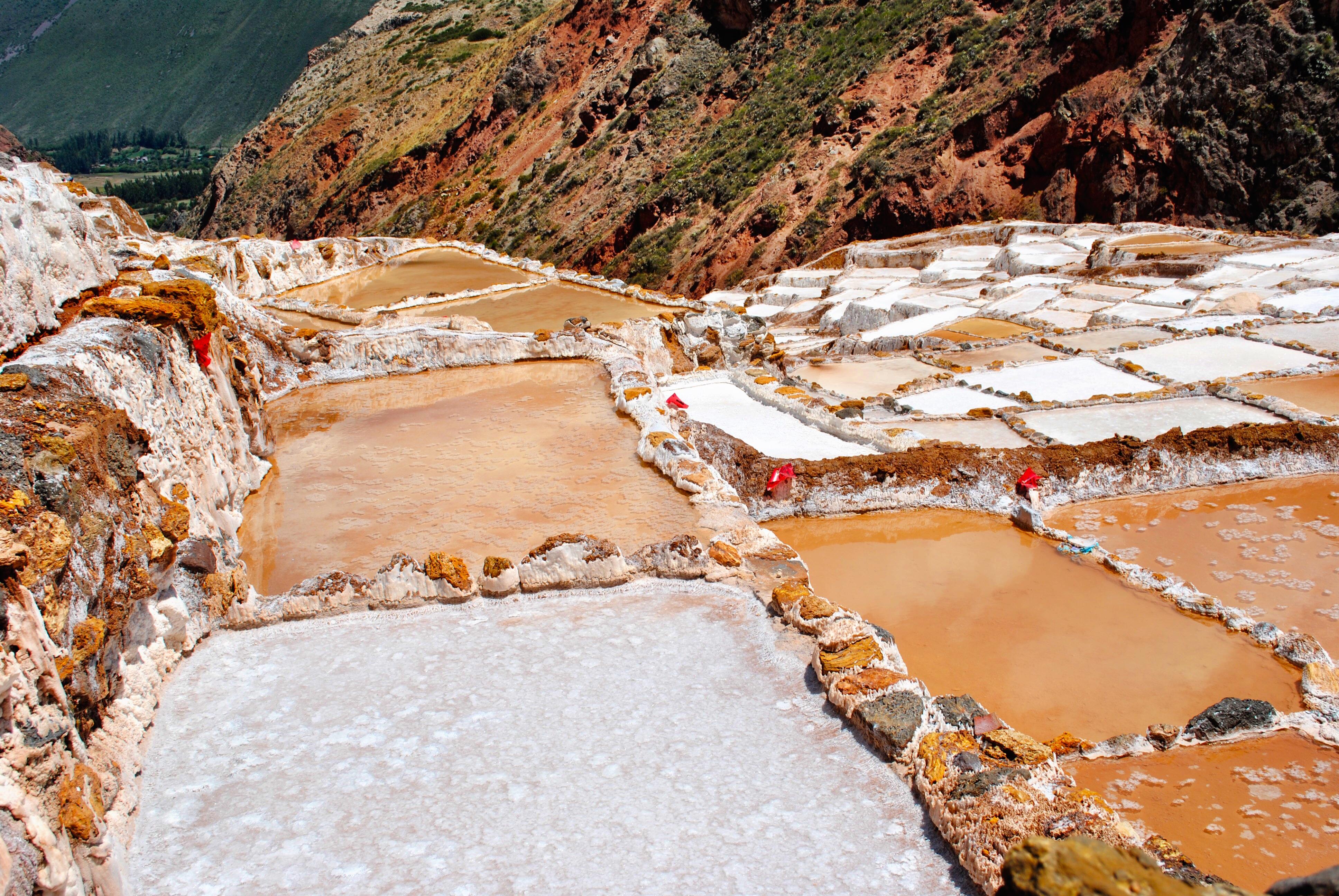 Maras Salt Pans - Sacred Valley