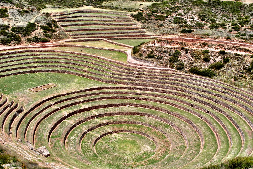 Moray Ruins - Sacred Valley - View From Above