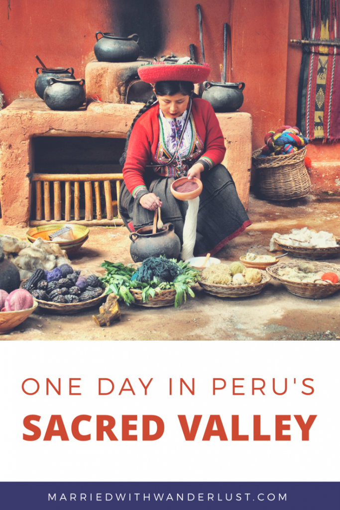 Perus Sacred Valley - Pinterest Image