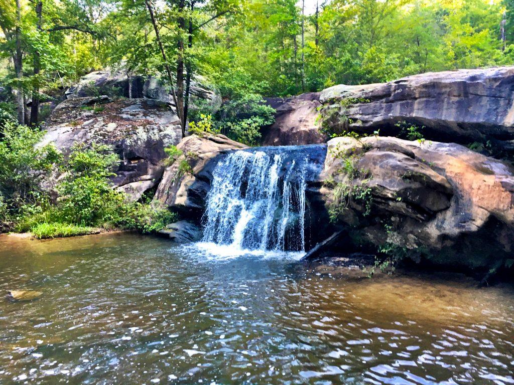 Waterfall - Chau Ram Park - South Carolina