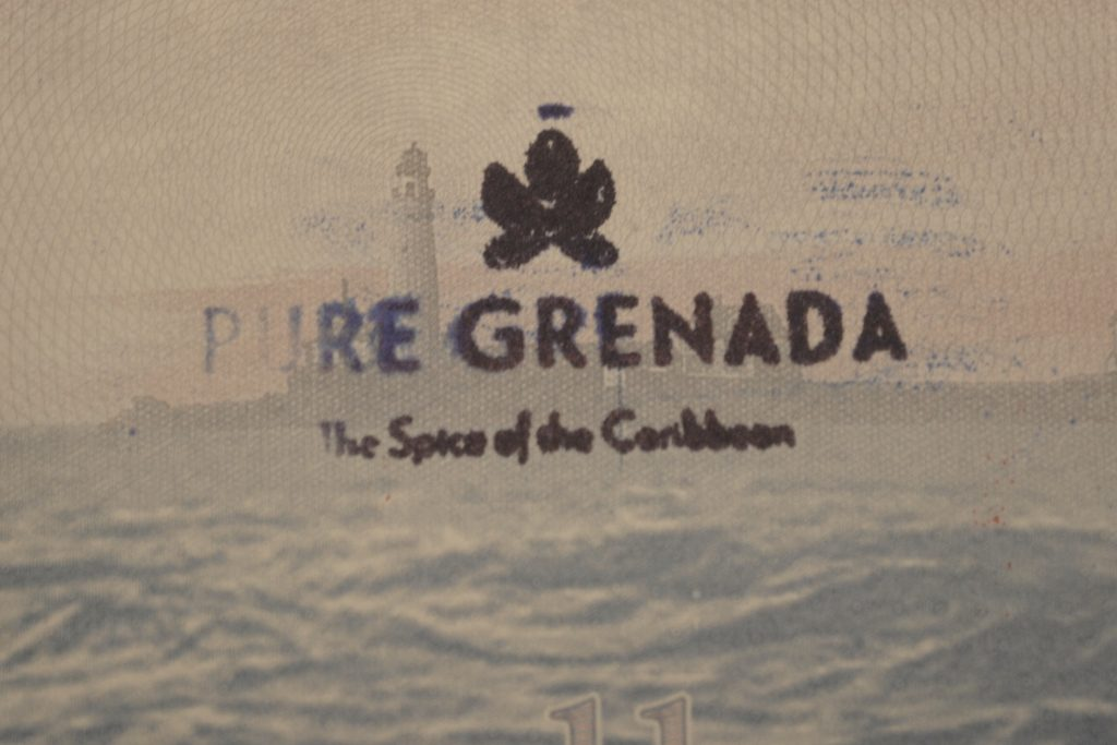 Grenada Passport Stamp 2016