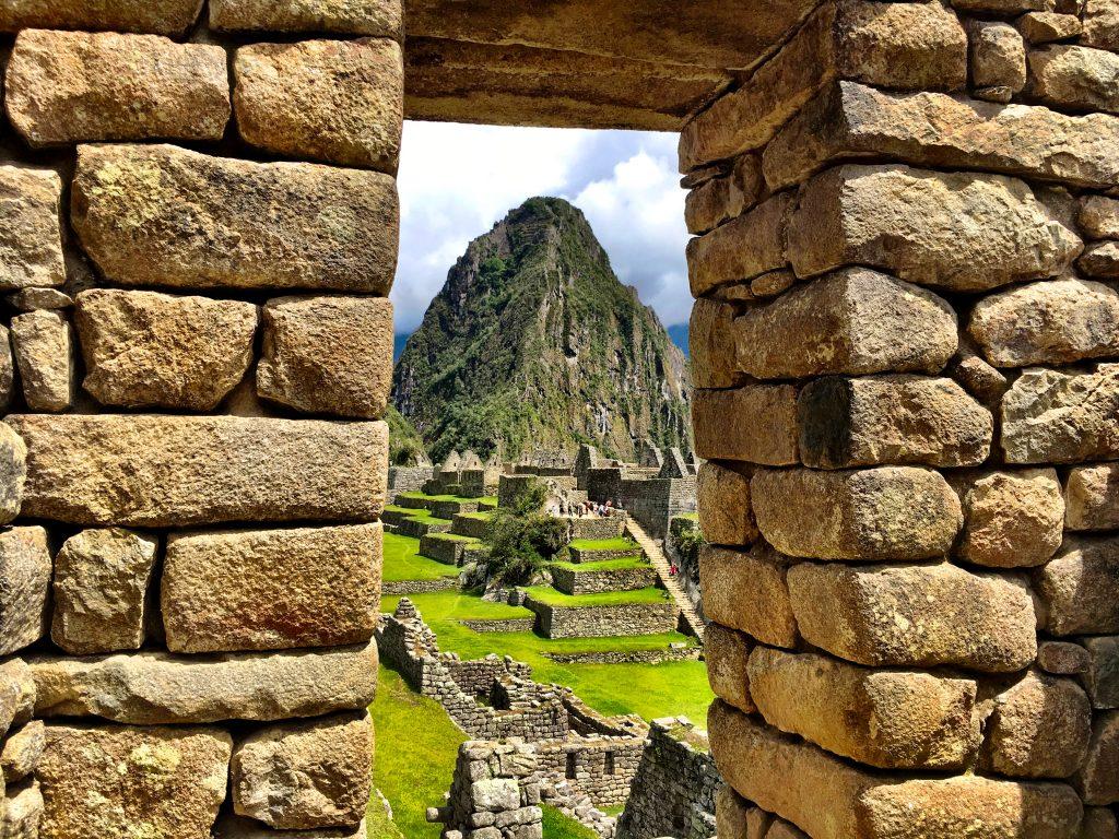 A Perspective of Machu Picchu