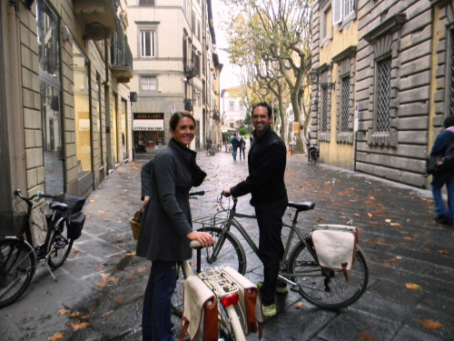 Biking in Italy