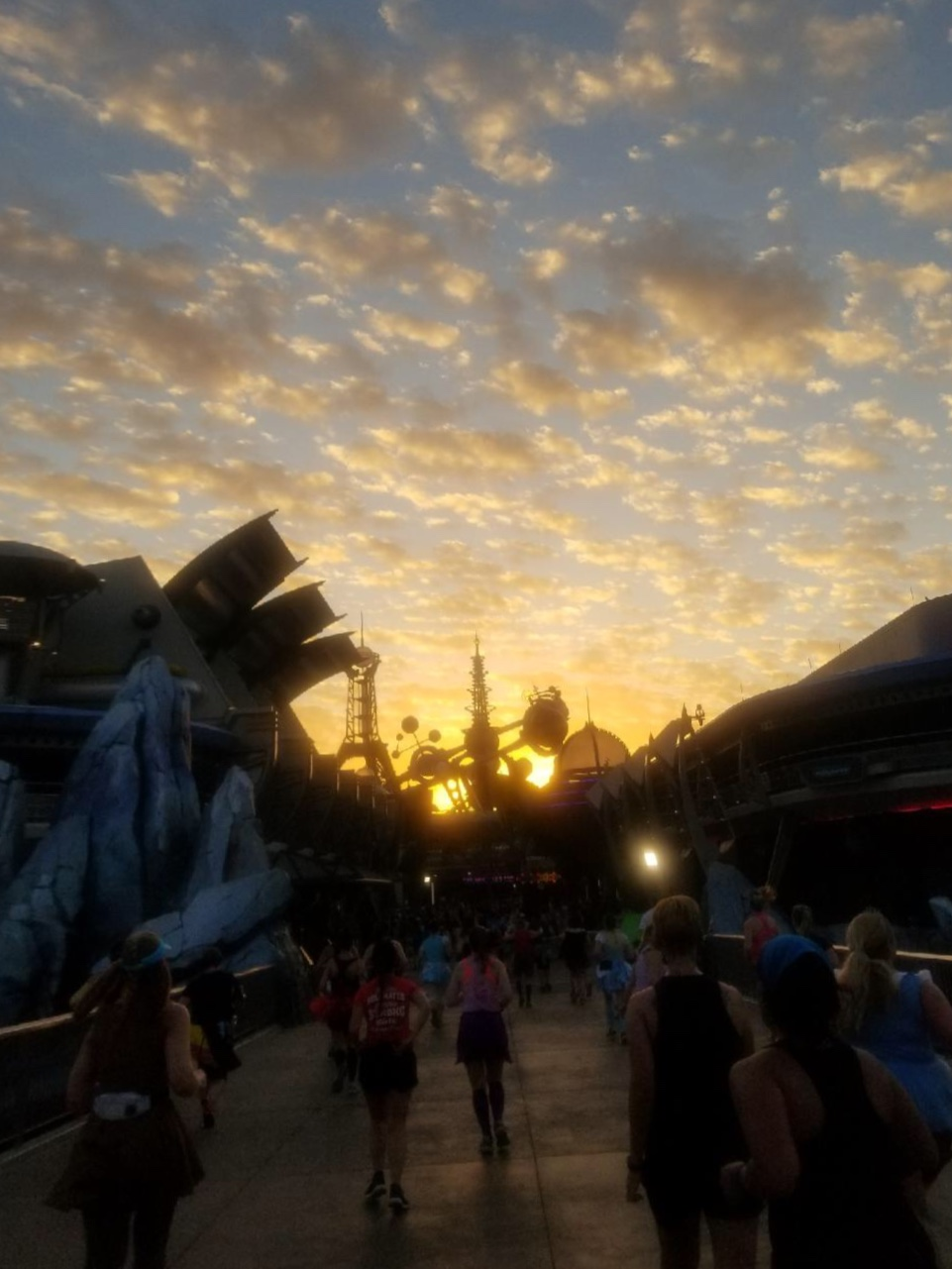 Disney Race - Princess Half Marathon Sunrise