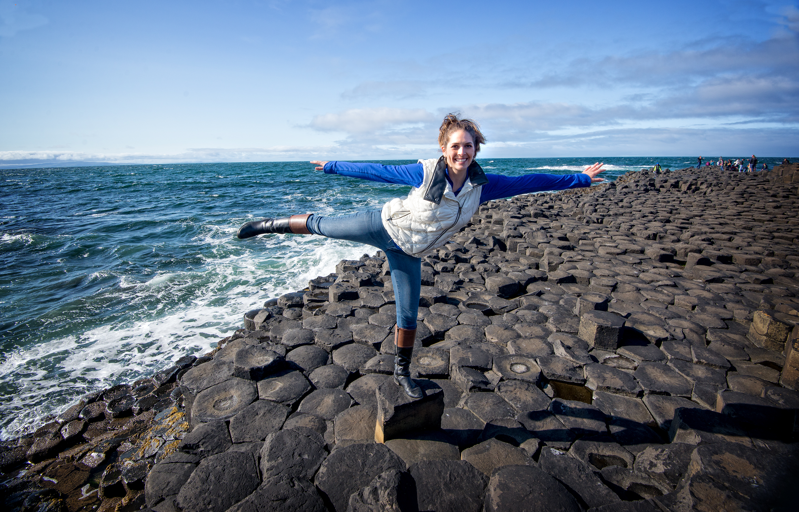 Climbing the Giants Causeway in Northern Ireland should be on every travel bucket list.