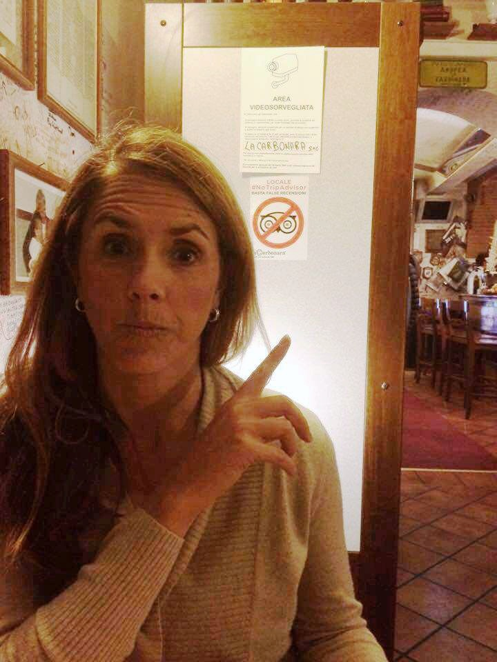 Eating Gluten-Free in Italy at La Carbonara