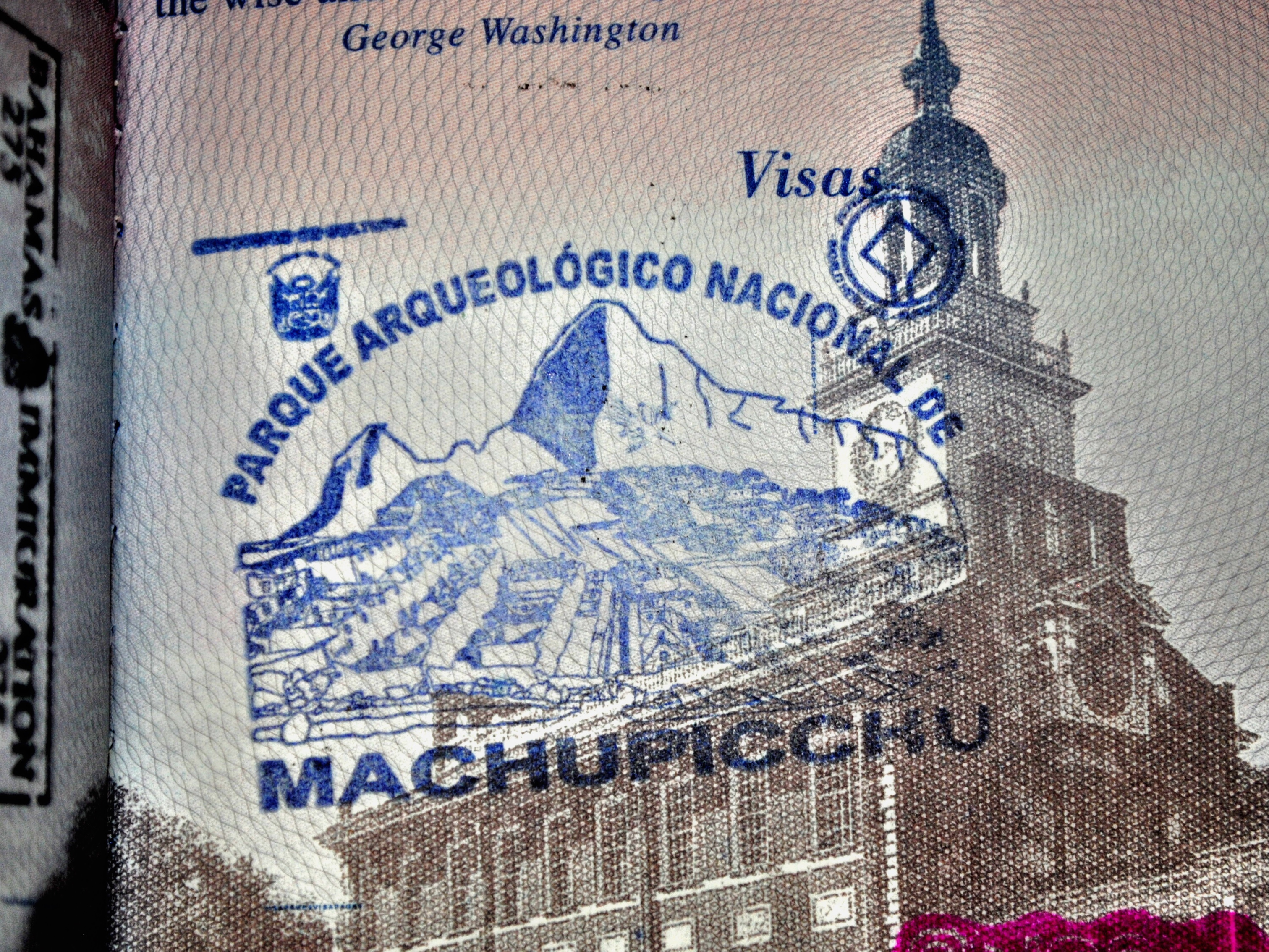 Get a Passport Stamp at Machu Picchu
