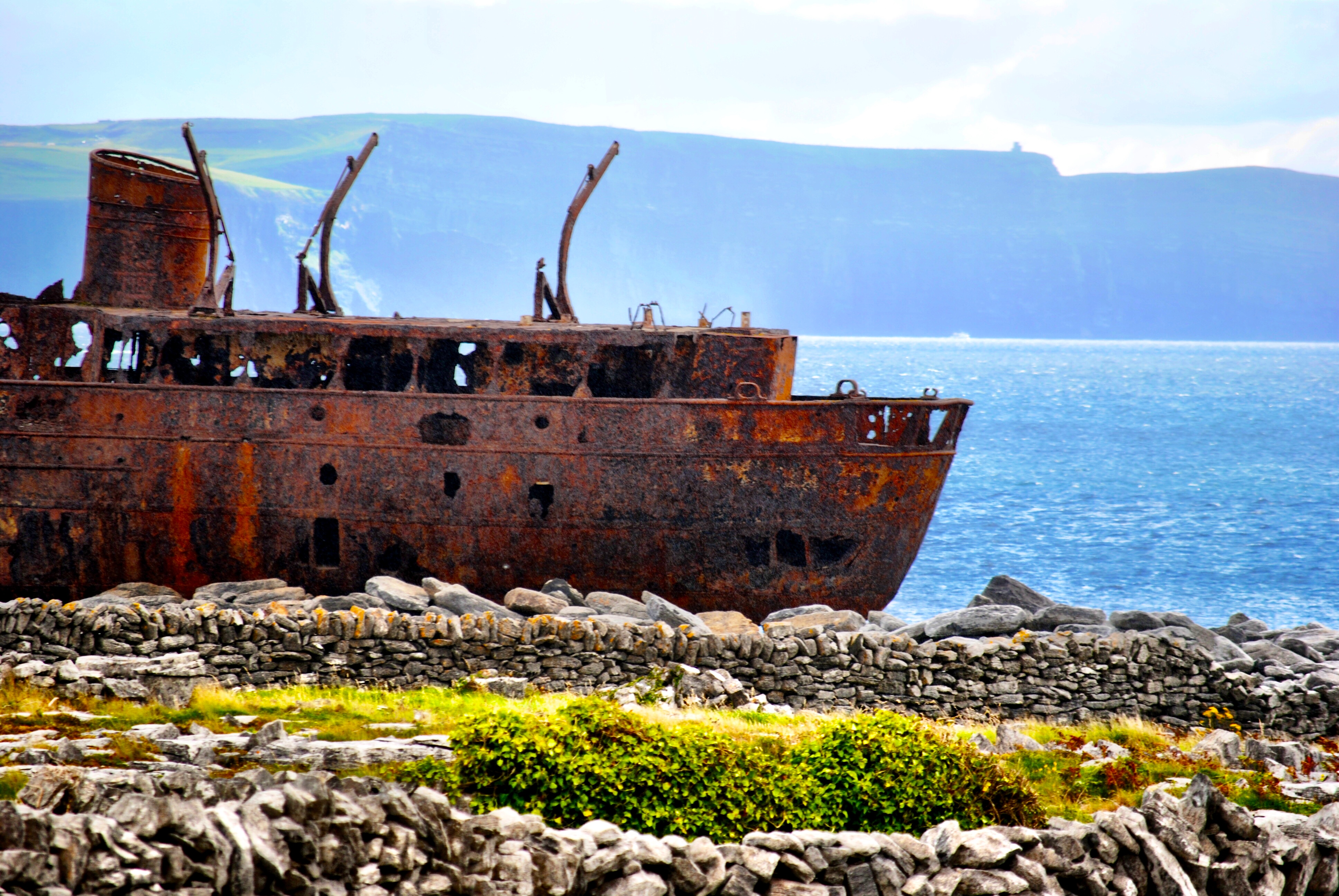 Plassey Shipwreck - Aran Islands, Ireland