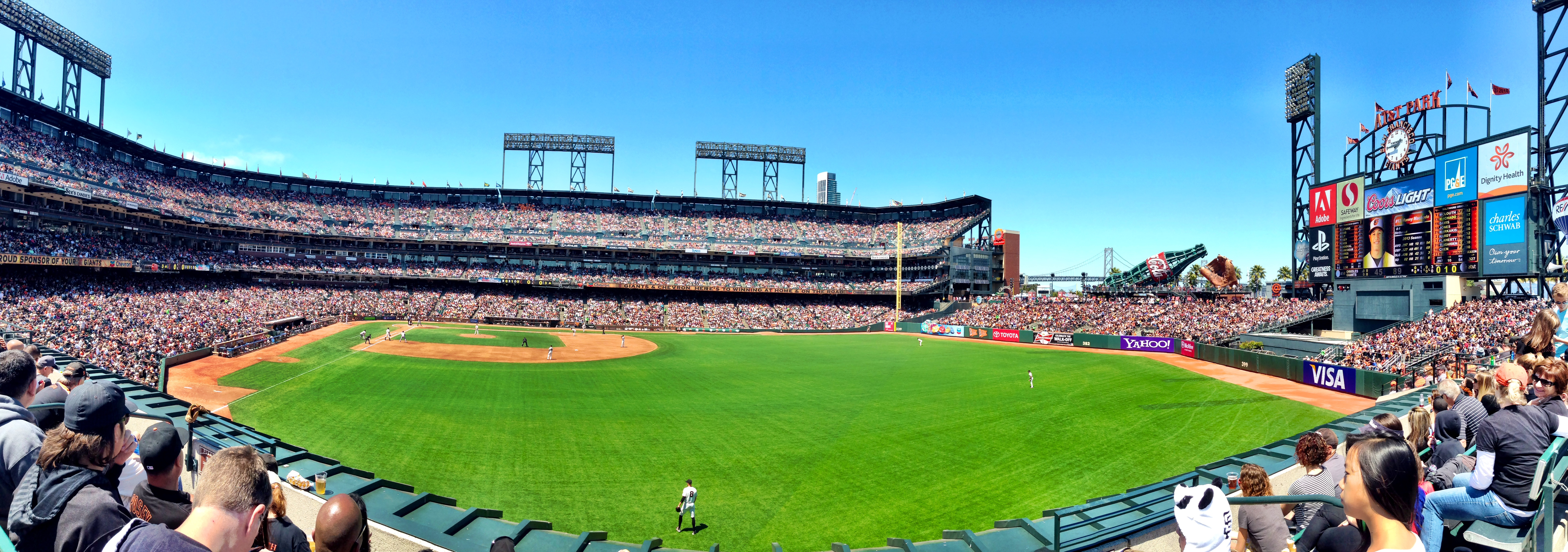Visiting ATT Park in San Francisco