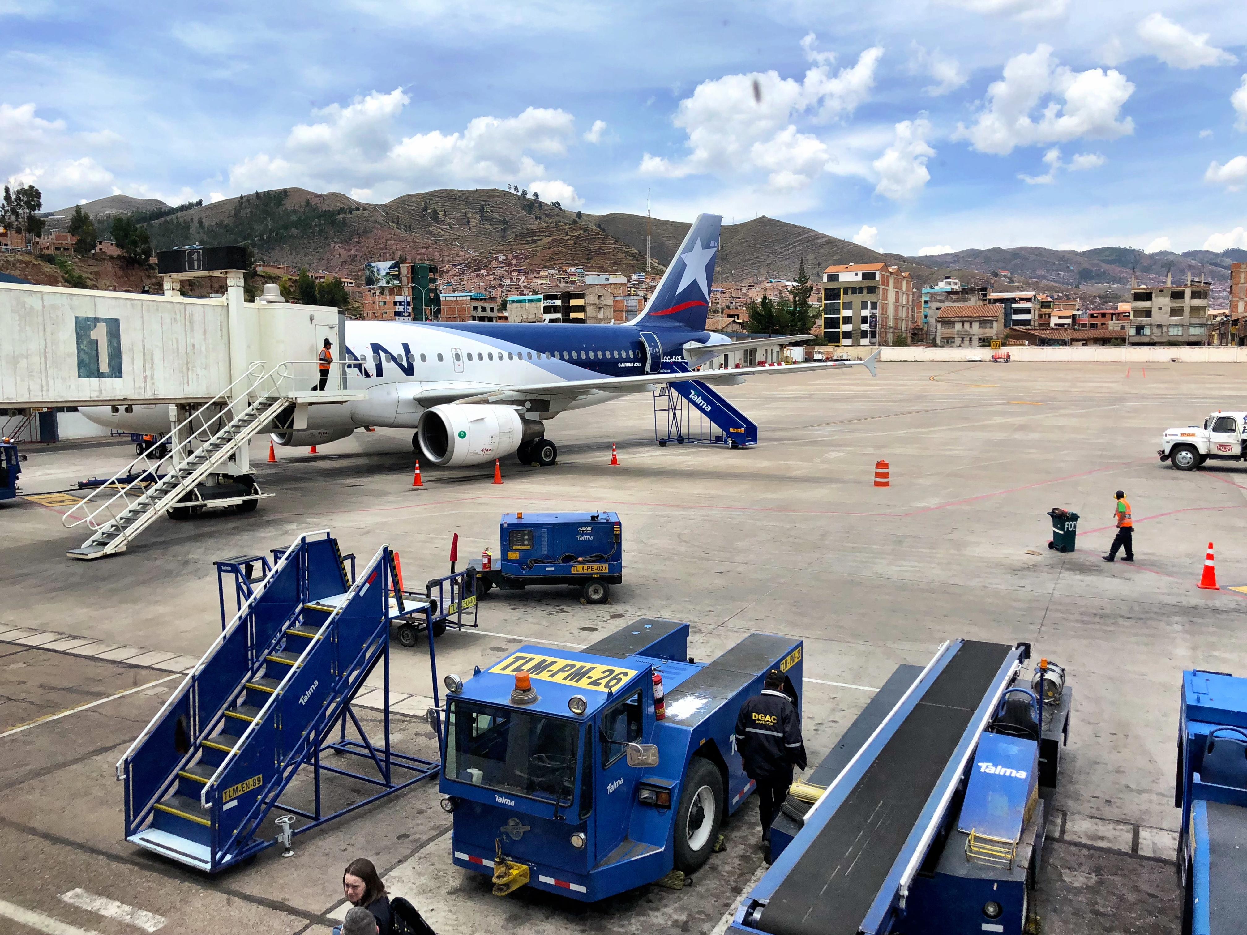 Airport in Cusco, Peru