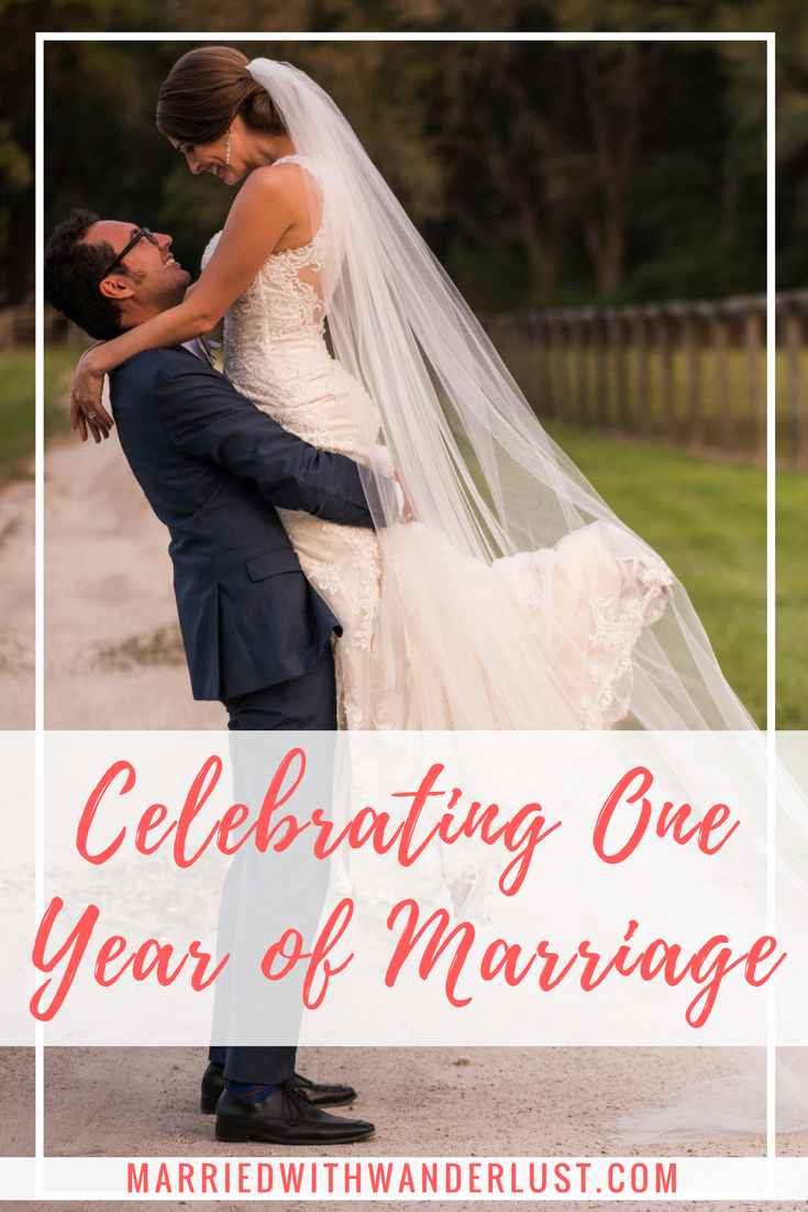 Celebrating One Year of Marriage