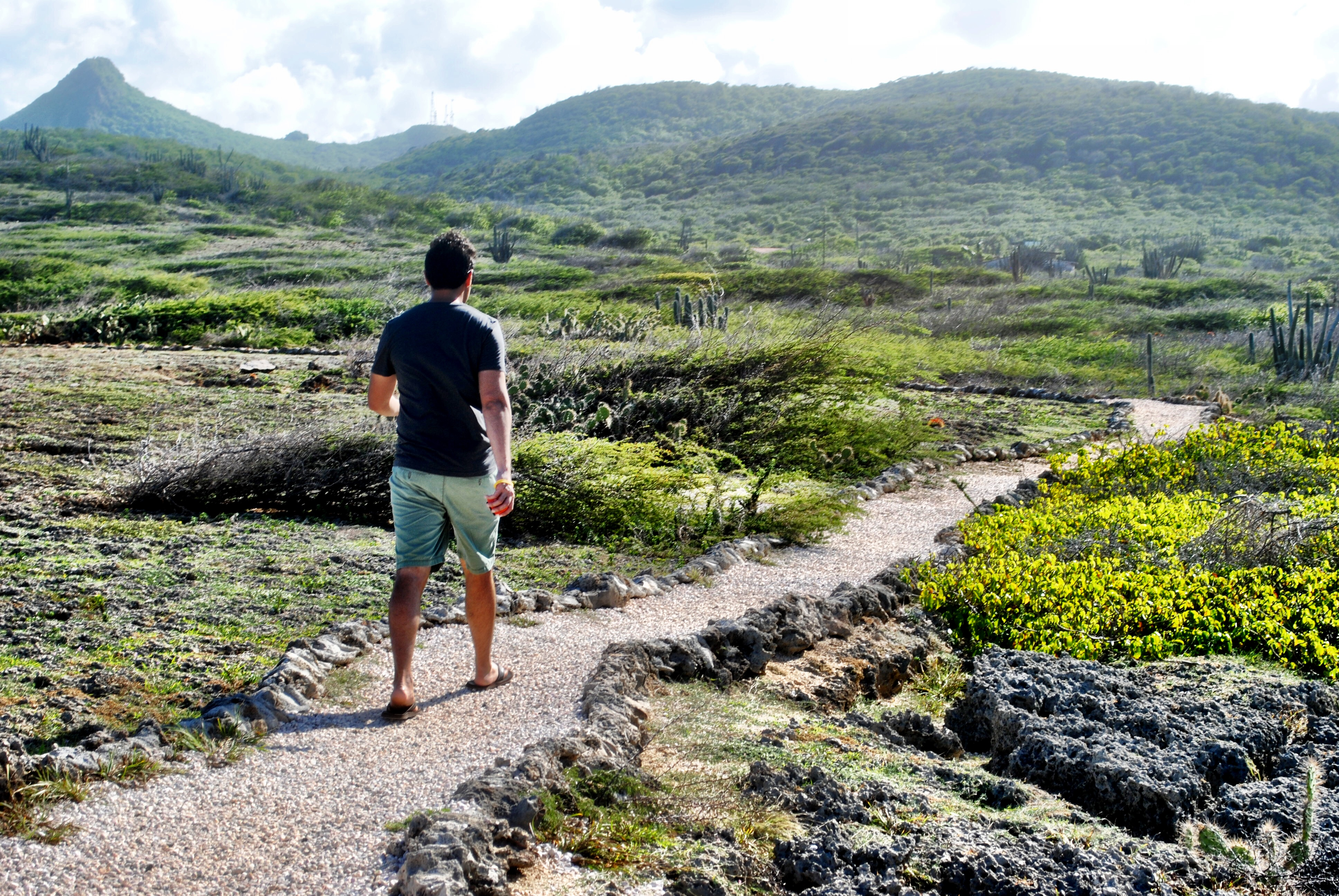 Shete Boka National Park in Curacao