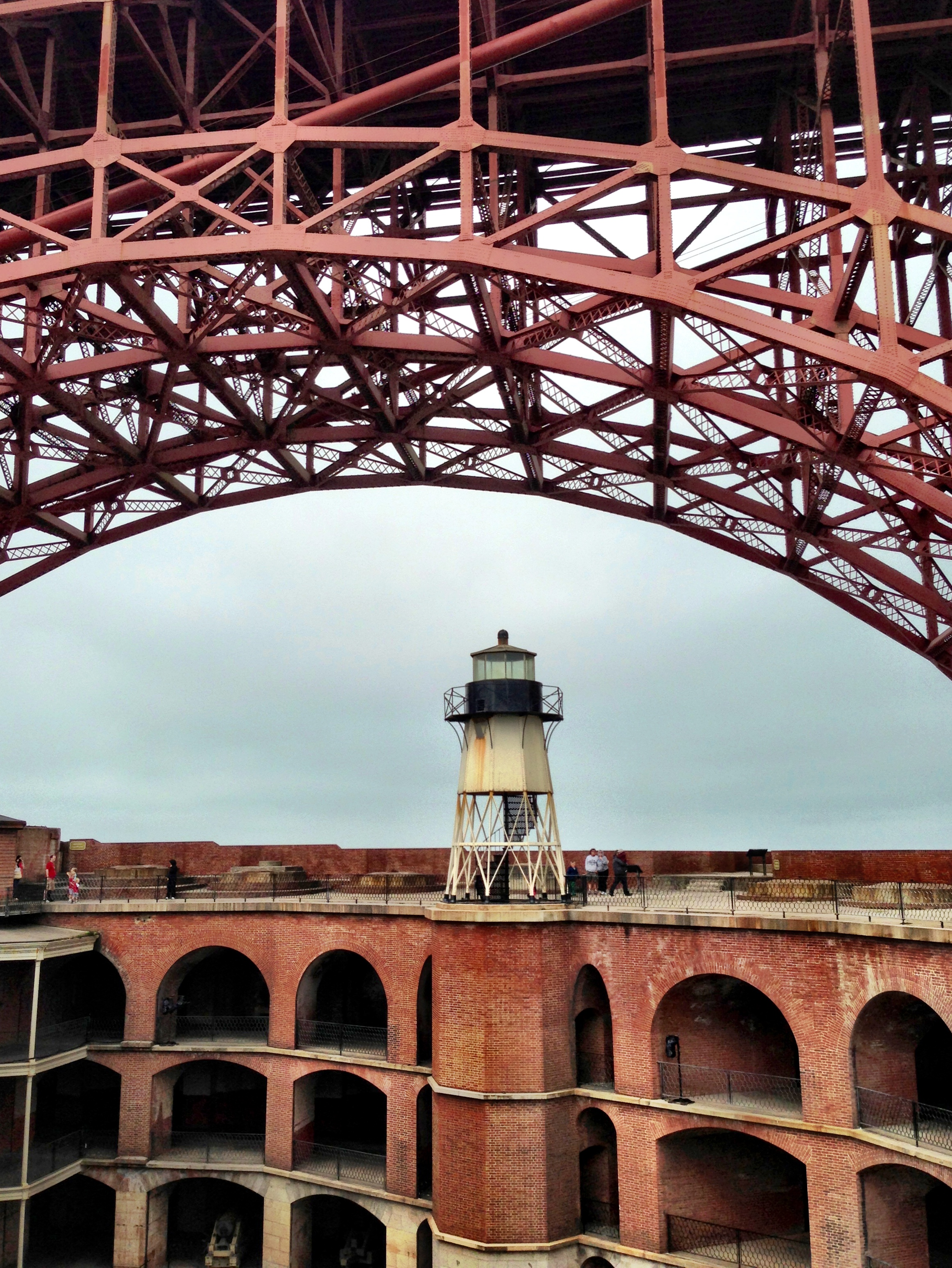 Fort Point Historic Site in San Francisco