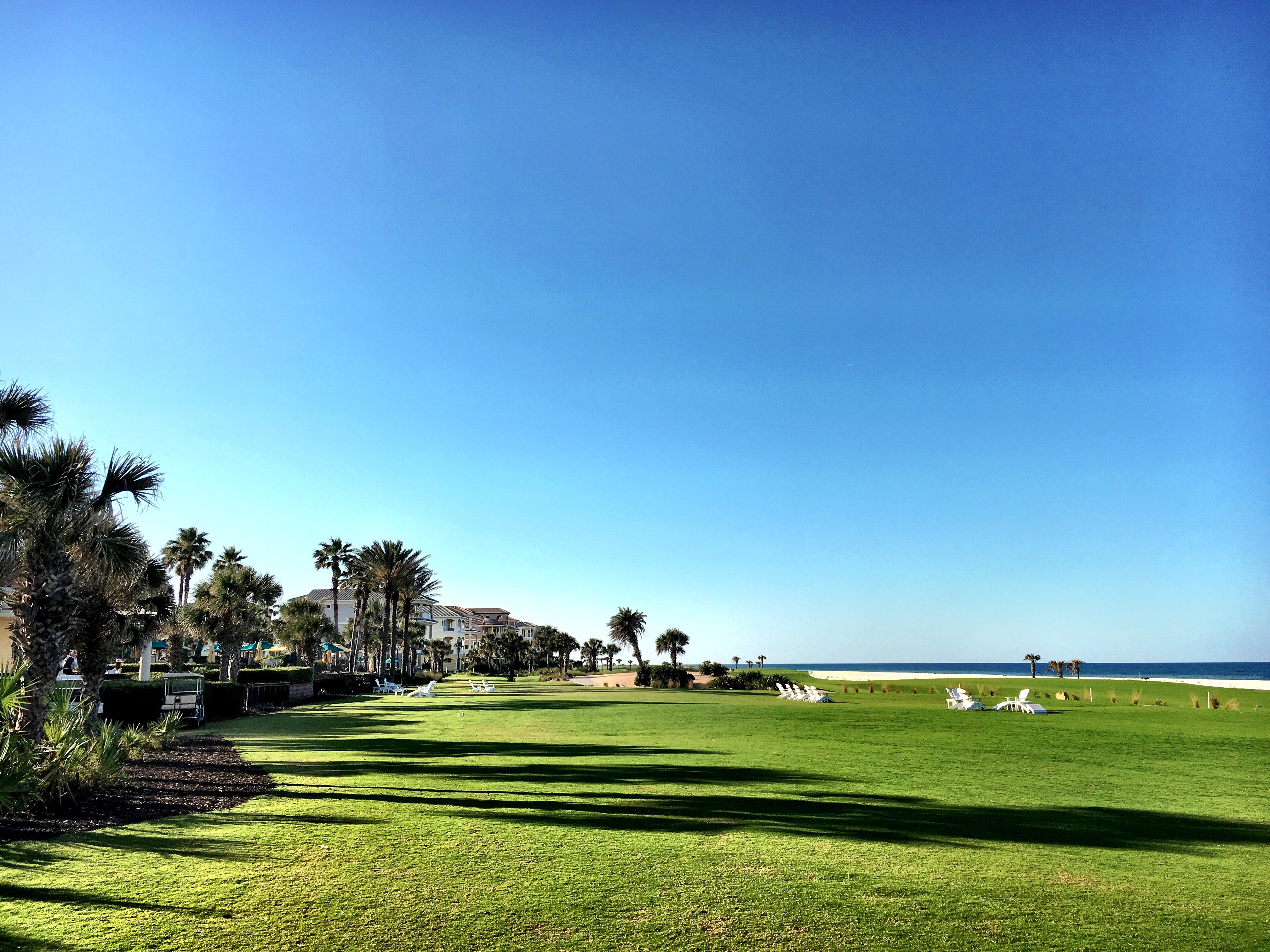 Hammock Beach Resort Lawn