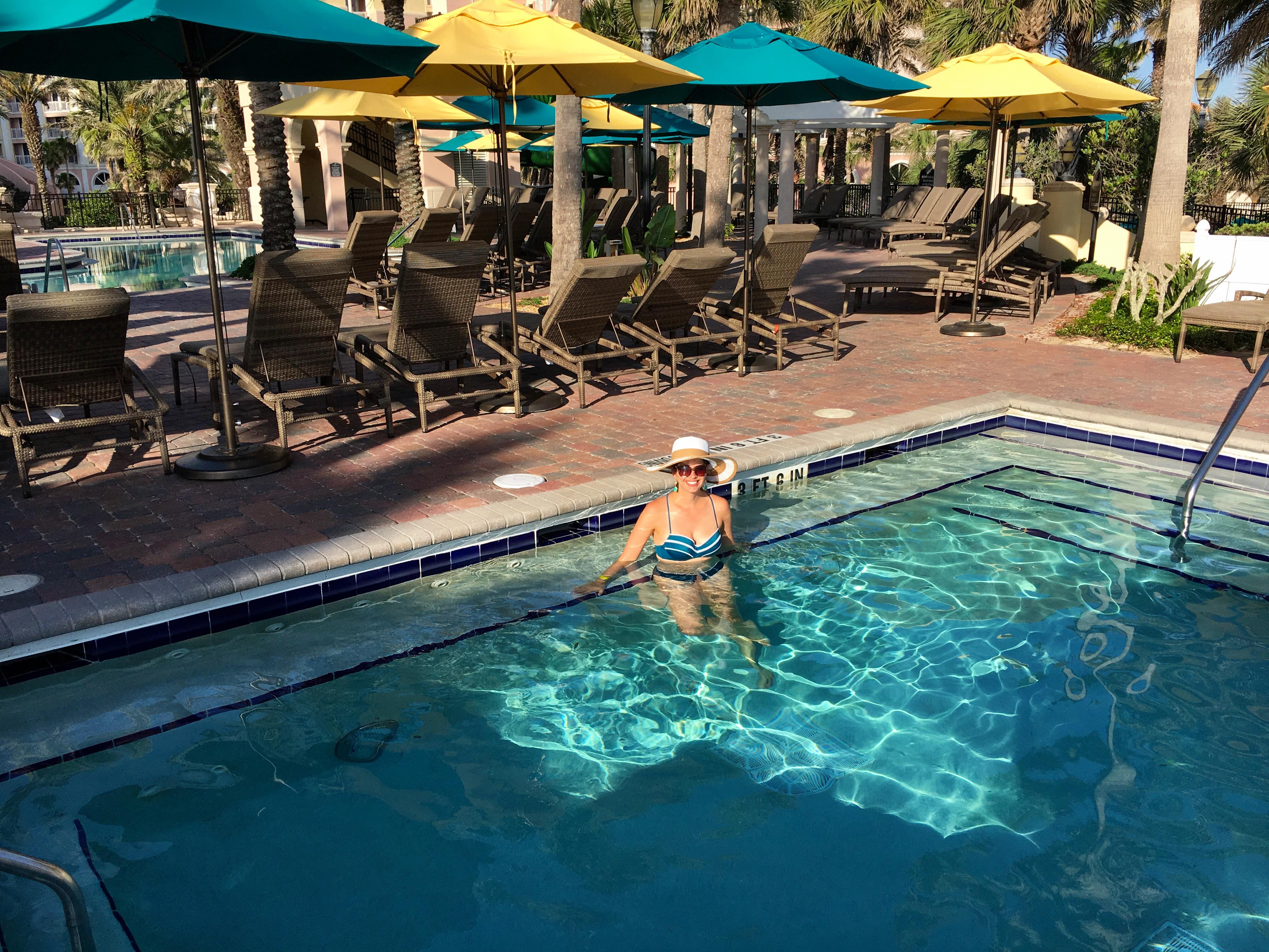Hammock Beach Resort's Hot Tub Pool