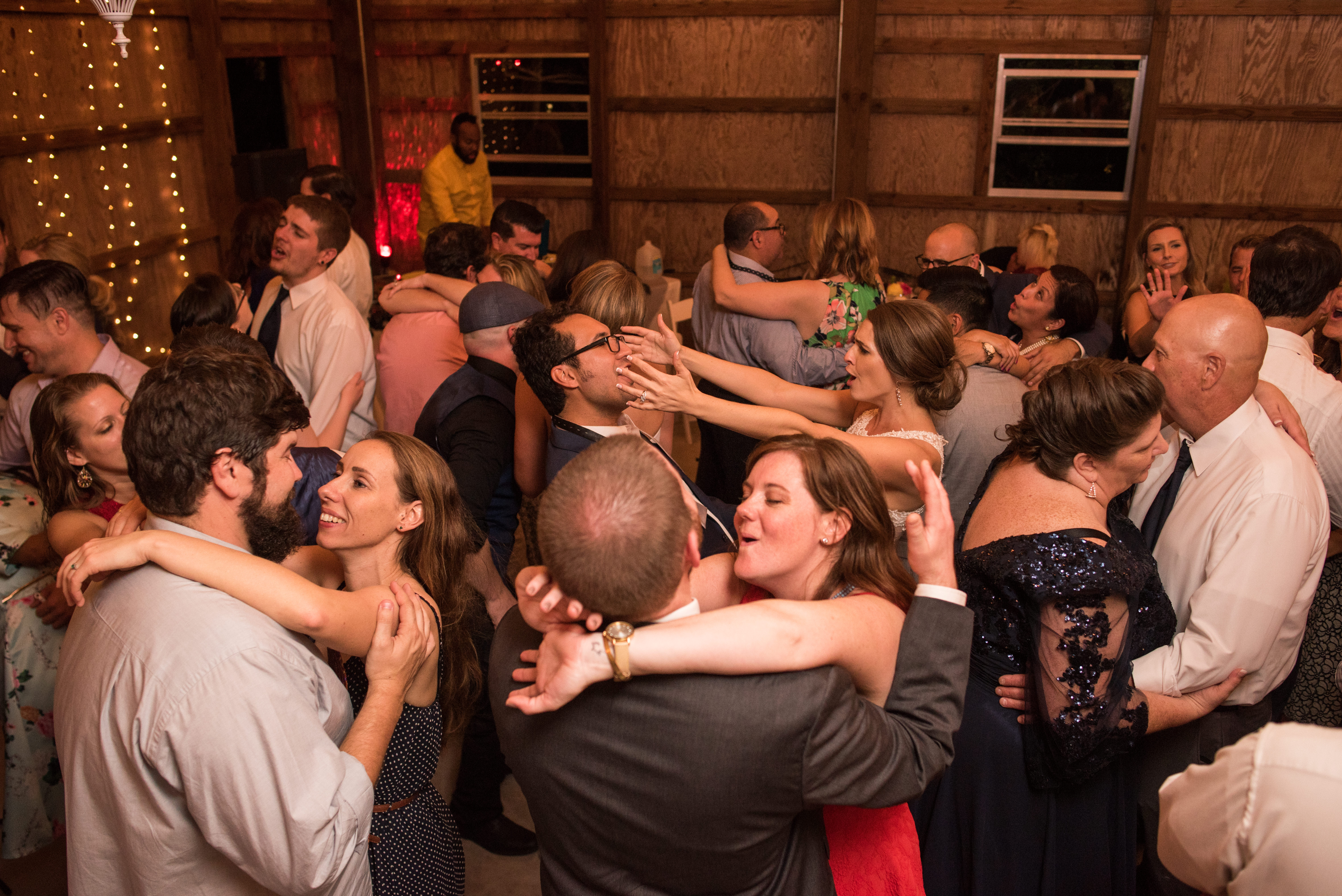 Dancing at the Williford Wedding