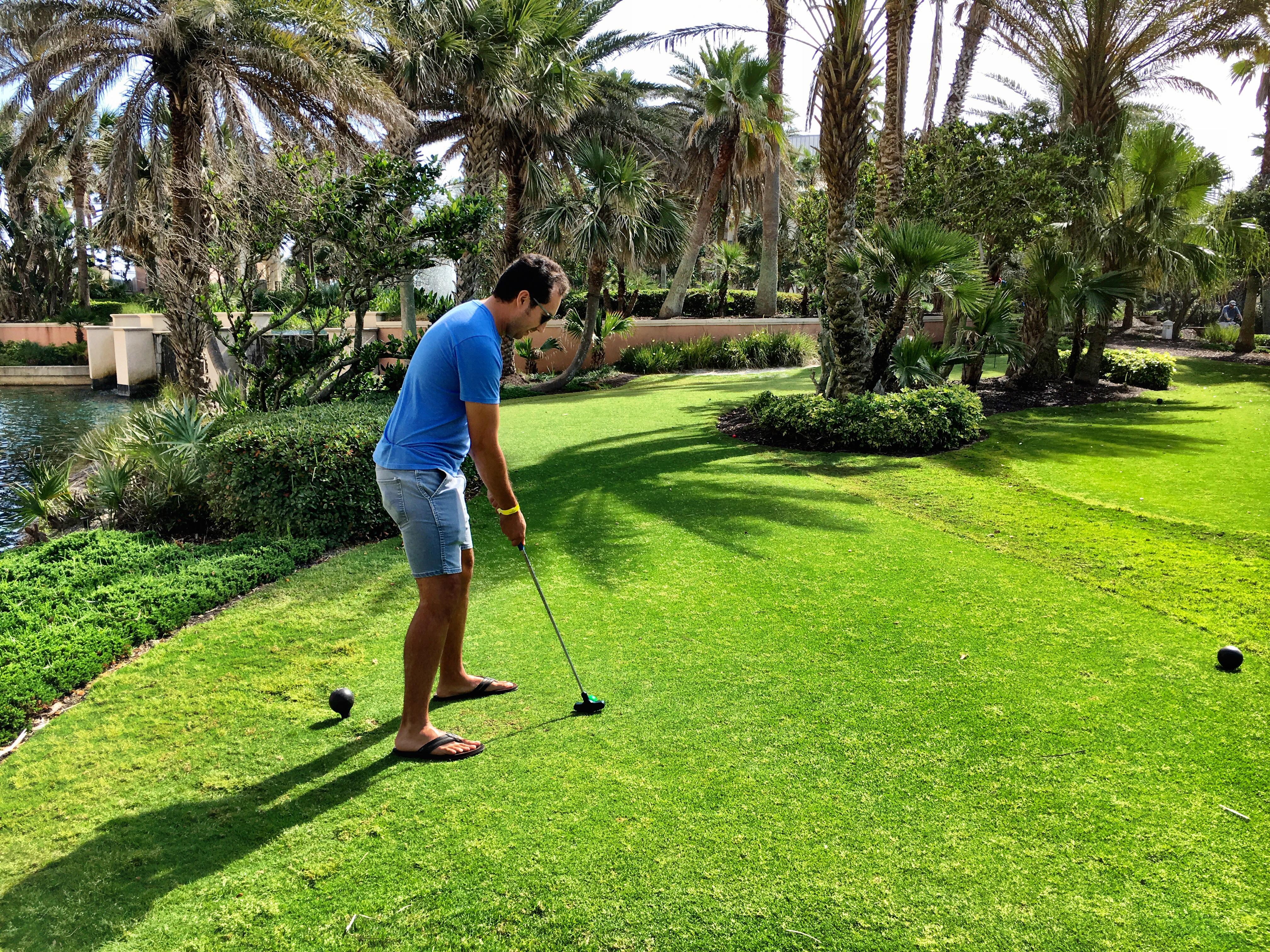 Putting Green at Hammock Beach Resort