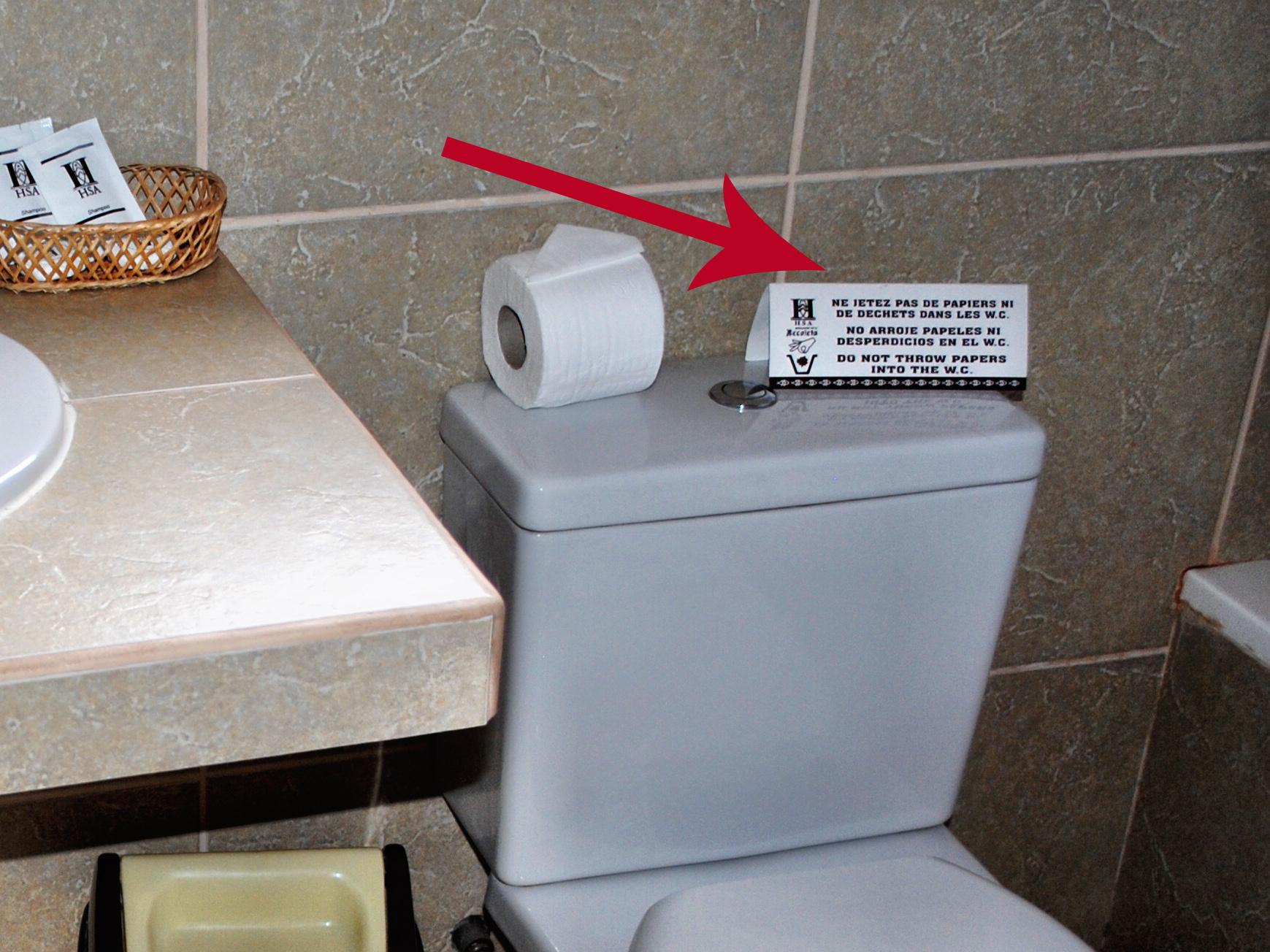 Toilet in Peru