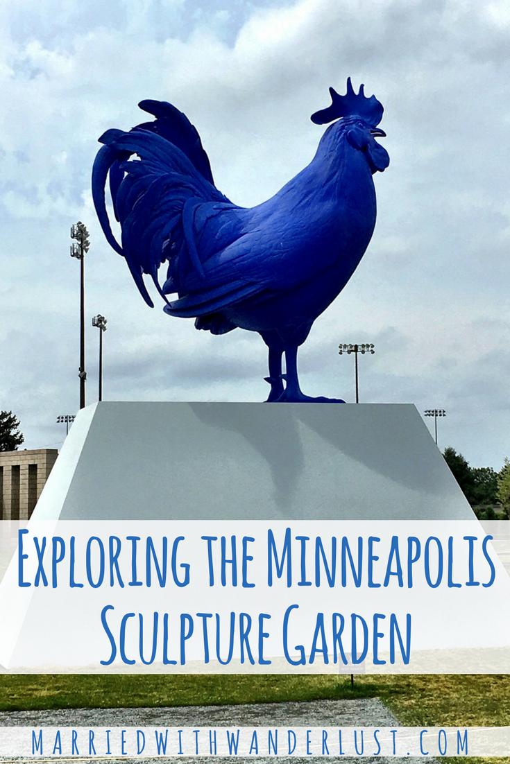 Exploring the Minneapolis Sculpture Garden