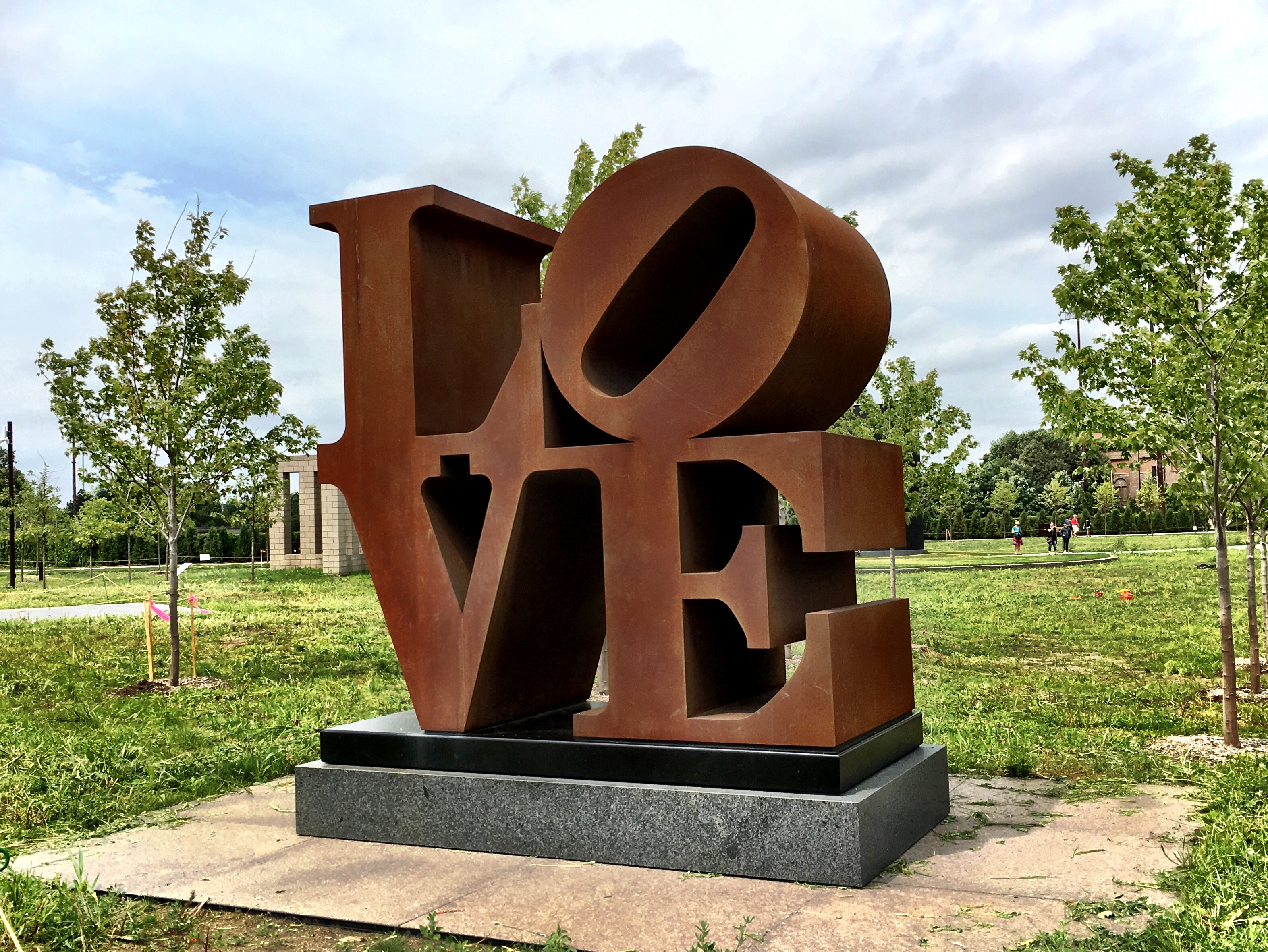 LOVE at the Minneapolis Sculpture Garden