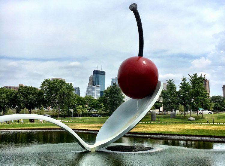 Spoonbridge and Cherry- Minneapolis Sculpture Garden